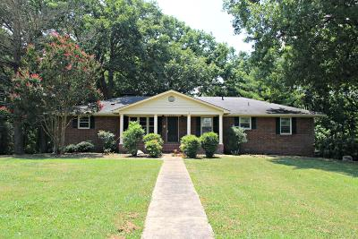 Columbia Single Family Home For Sale: 1112 Confederate Dr