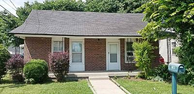 Rutherford County Single Family Home Under Contract - Not Showing: 603 E Sevier St