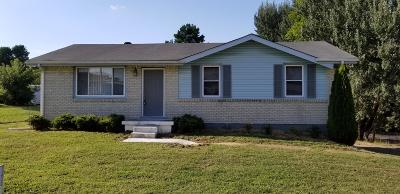 Clarksville Single Family Home For Sale: 535 Gale Drive