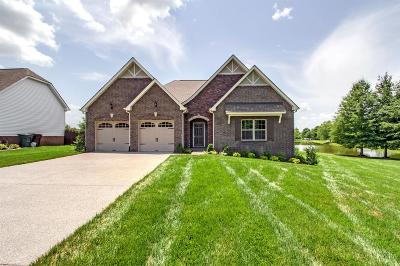Gallatin Single Family Home For Sale: 1215 Wentworth Drive - Lot 248