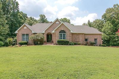 Clarksville Single Family Home Under Contract - Showing: 1220 Hutcheson Ln