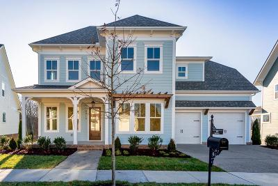 Franklin Single Family Home For Sale: 5012 Maysbrook Lane - Lot 2