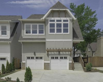 Nashville Single Family Home Under Contract - Showing: 4111 A Oriole Pl