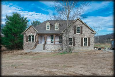 Columbia Single Family Home For Sale: 3992 Bigbyville Rd - Lot 16