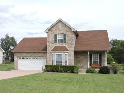 Clarksville Single Family Home Under Contract - Showing: 3118 Whitetail Dr