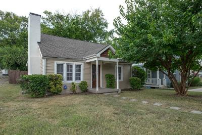 Nashville Single Family Home Under Contract - Showing: 1624 Porter Ave