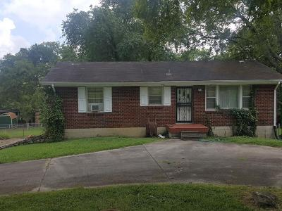 Sumner County Single Family Home Under Contract - Showing: 707 Elba Dr