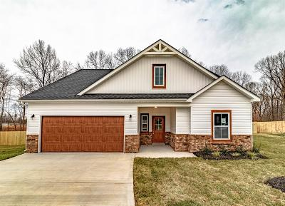 Clarksville TN Single Family Home Under Contract - Not Showing: $244,950