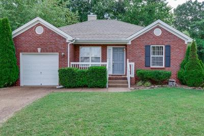 Nashville Single Family Home Under Contract - Not Showing: 3149 Barksdale Harbor Dr