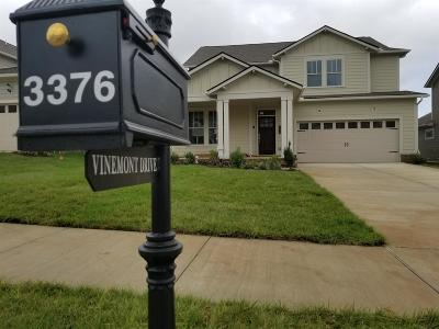 Thompsons Station Single Family Home For Sale: 3376 Vinemont Drive #1548