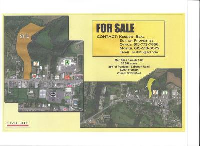 Mount Juliet Residential Lots & Land For Sale: Lebanon Rd