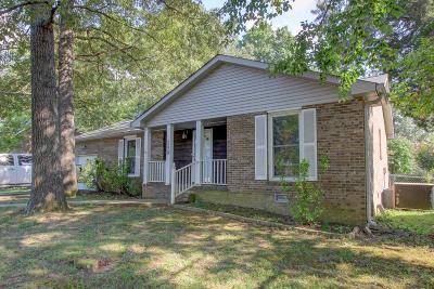 Clarksville Single Family Home Under Contract - Showing: 239 Millstone Cir