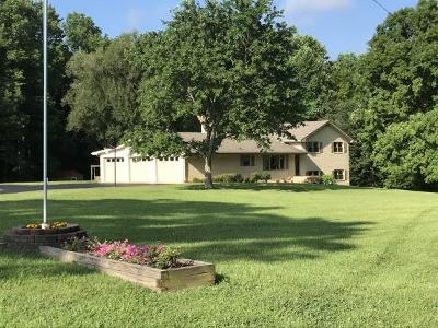 Bon Aqua Single Family Home For Sale: 905 Parker Ck Rd