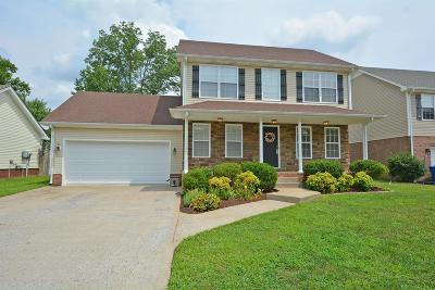 Clarksville Single Family Home For Sale: 537 Parkvue Village Way