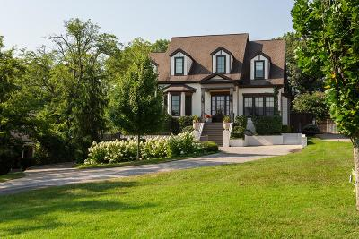 Nashville Single Family Home Under Contract - Showing: 2013 A Castleman Dr