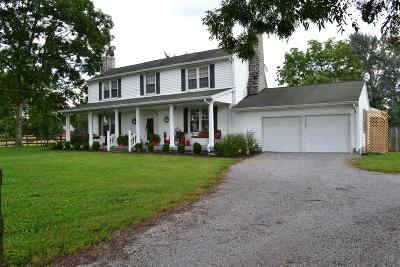 Lebanon Single Family Home Under Contract - Showing: 2924 Sparta Pike