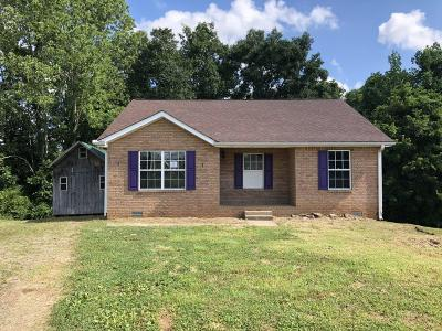 Clarksville Single Family Home Under Contract - Showing: 1352 Chucker Dr