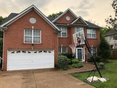Mount Juliet Single Family Home Under Contract - Showing: 2902 Melbourne Ter