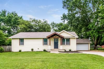 Murfreesboro Single Family Home For Sale: 6624 Scenic Dr