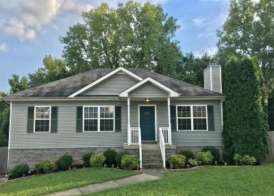 Clarksville Single Family Home For Sale: 1133 Gunpoint Dr