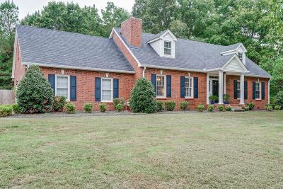 Dickson Single Family Home For Sale: 126 Redbud Dr