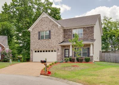 Maury County Single Family Home Under Contract - Not Showing: 8008 Tiger Ct