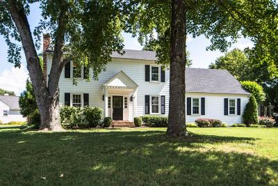 Franklin Single Family Home Under Contract - Showing: 152 Riverwood Dr