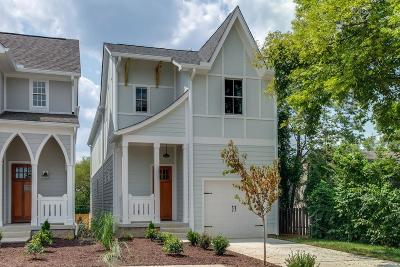 Nashville Single Family Home For Sale: 4207 A Lone Oak Rd