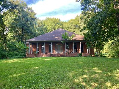 Shelbyville Single Family Home Under Contract - Showing: 555 Ward Hollow Rd