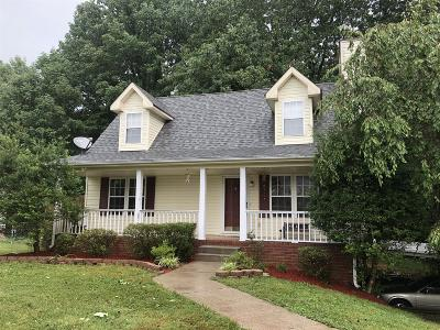 Goodlettsville Single Family Home For Sale: 109 Amelia Ct