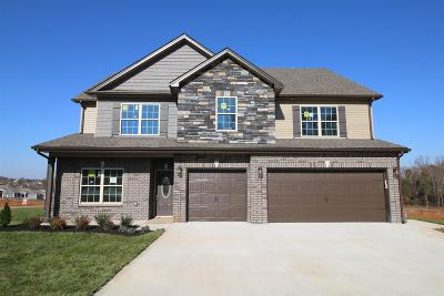 Clarksville Single Family Home Under Contract - Showing: 272 The Groves At Hearthstone