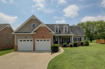 Clarksville Single Family Home Under Contract - Showing: 212 Cullom Way