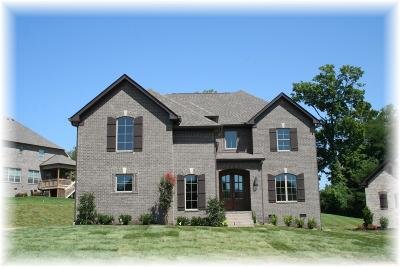 Hendersonville Single Family Home For Sale: 1007 Atherton Ct - Lot 24