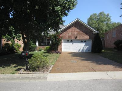Brentwood Single Family Home For Sale: 6136 Brentwood Chase Dr