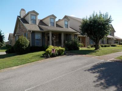 Christian County, Ky, Todd County, Ky, Montgomery County Condo/Townhouse For Sale: 1818 Memorial Dr #U5