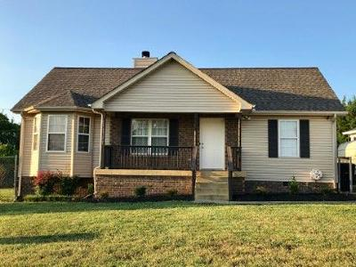 Nashville TN Single Family Home Under Contract - Not Showing: $204,900