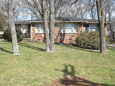 Multi Family Home For Sale: 4018 Woodmont Blvd