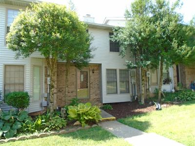 Christian County, Ky, Todd County, Ky, Montgomery County Condo/Townhouse For Sale: 14 Magnolia Sq #14
