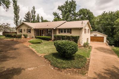 Gallatin Single Family Home For Sale: 1355 Dickerson Bay Dr