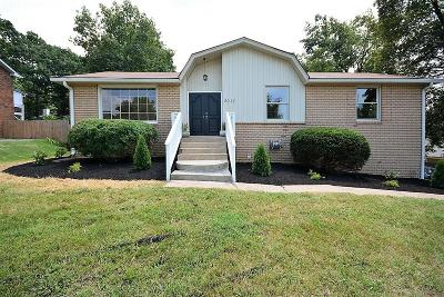 Nashville Single Family Home Under Contract - Showing: 3017 Anderson Rd