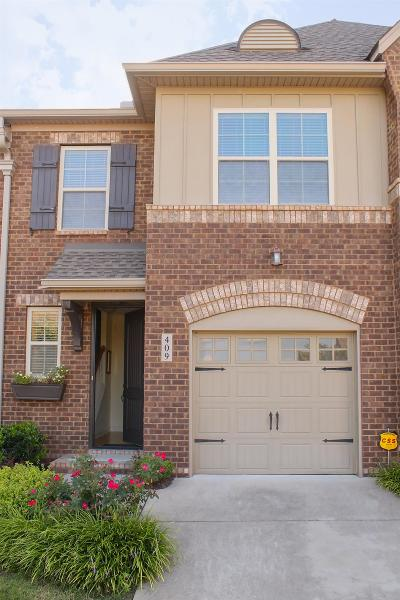 Mount Juliet Condo/Townhouse For Sale: 409 Waterbrook Dr