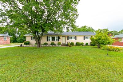 Wilson County Single Family Home Under Contract - Showing: 1405 Idlewild Dr