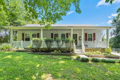 Clarksville Single Family Home Under Contract - Showing: 2677 Dotsonville Rd