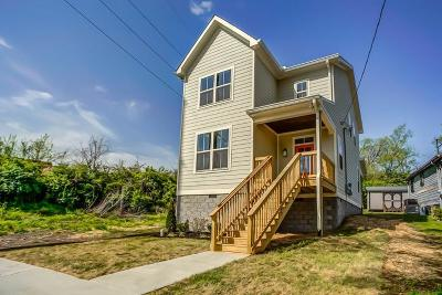 Davidson County Single Family Home Under Contract - Not Showing: 903 N 42nd Ave