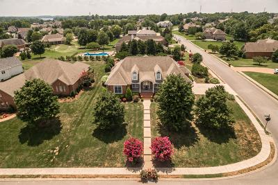 Sumner County Single Family Home For Sale: 453 Bay Point Dr