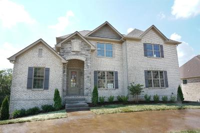 Gallatin Single Family Home For Sale: 1118 Claire Ct Lot 44