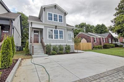 Nashville Single Family Home For Sale: 2507 A Solon