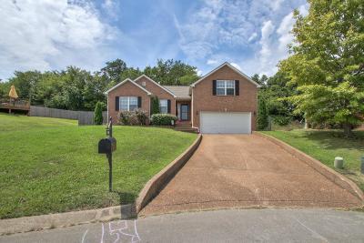 Mount Juliet Single Family Home Under Contract - Showing: 7002 Crestview Cv