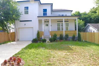 Nashville Single Family Home For Sale: 907 Free Silver Rd