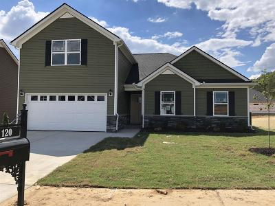 Spring Hill  Single Family Home For Sale: 120 East Coker Way Lot 4